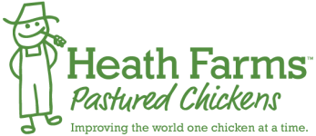 Heath Farms Pastured Chickens logo
